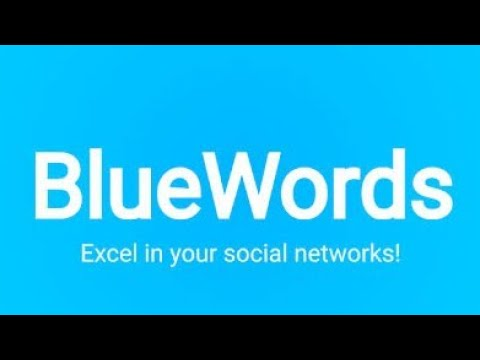 BlueWords Font Trick For Android 2020