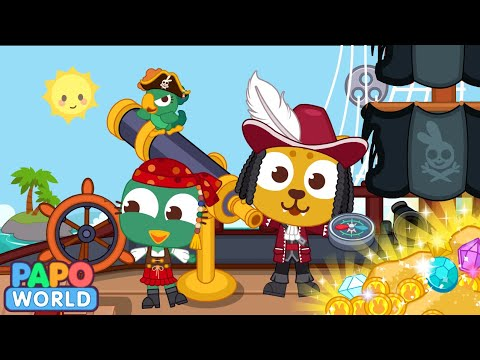 video review of Papo Town Pirate