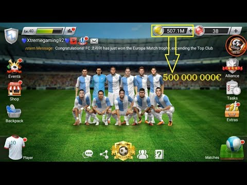 How To Earn 500 000 000€ In 7 Minutes | Football Master 2019