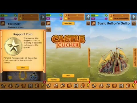 video review of Castle Clicker