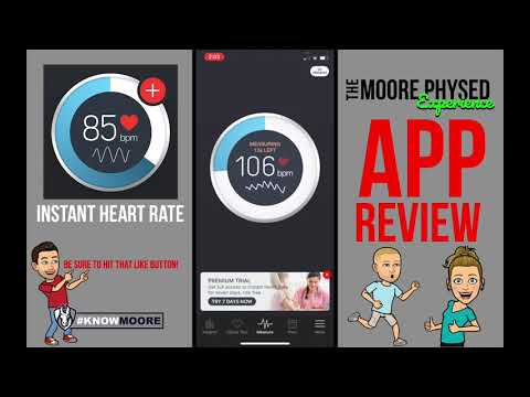 Instant Heart Rate App Review - The Moore Physed Experience