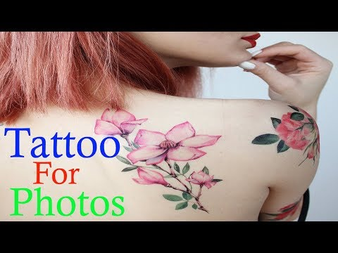 Tattoo for Photo android app.