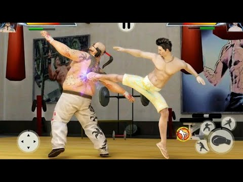 gym fighting games bodybuilder trainer fight pro free app download Android