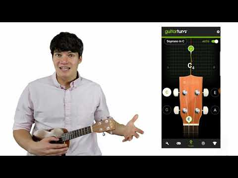 How to Tune Your Ukulele Using a Free App