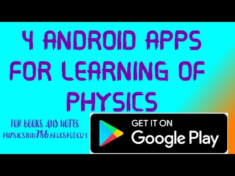 WHAT ARE 4 ANDROID APPS FOR EFFECTING LEARNING OF PHYSICS     APPS THAT TEACH PHYSICS    PHYSICS INN