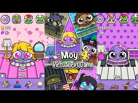 Moy 4 - Virtual Pet Game Android Gameplay #DroidCheatGaming