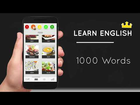 Learn English Free AndroidApp 1000Words