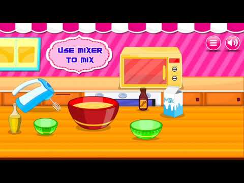 Fun Cooking Games - Sweet Cookies | Food Recipes - Cooking For Kids #3 HD