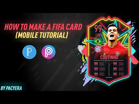 Tutorial: How to do a Fifa Card on Mobile without using fifarosters