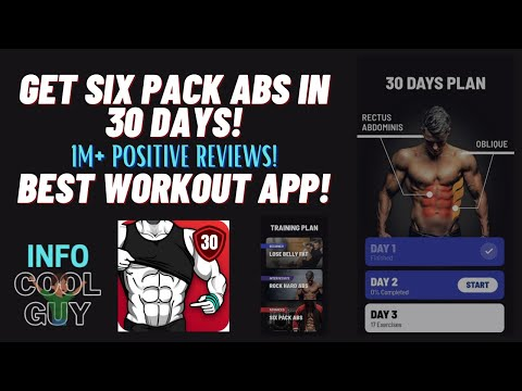 Get Six Pack Abs in 30 days! Best APP!!
