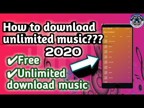 HOW TO DOWNLOAD FREE MUSIC | ANDROID DEVICES UNLIMITED MUSIC DOWNLOAD APP