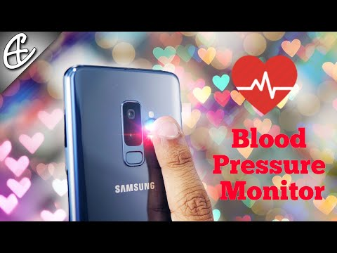 Galaxy S9 Blood Pressure Monitor - How To | Tutorial
