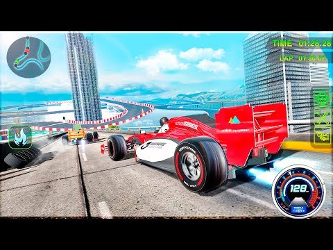Top Speed Formula Racing Extreme Car Stunts - Gameplay Android game - Formula Racing games