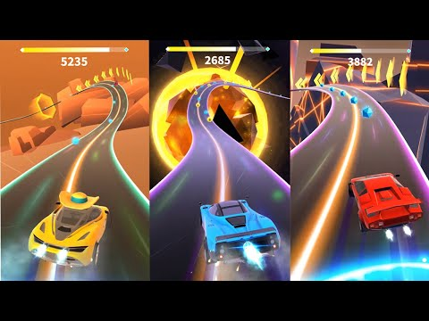 Racing Rhythm| Latest Android gameplay (All Levels)