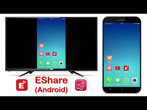 EShare Android - Connect your Android Phone to Android Smart LED TV Using EShare.