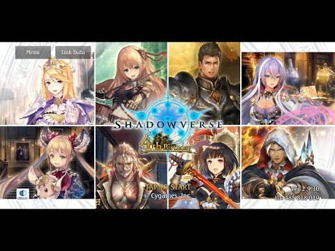 Shadowverse CCG Android Gameplay - Shadowverse 4th Birthday Gifts