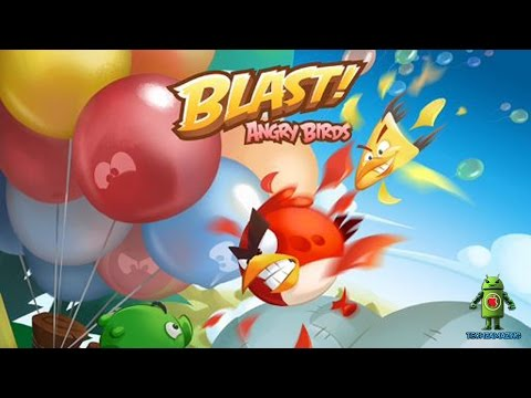 Angry Birds Blast (iOS / Android) Gameplay HD