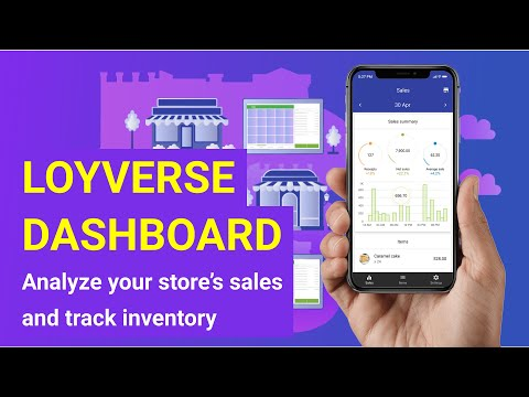 video review of Loyverse Dashboard - Sales Analysis