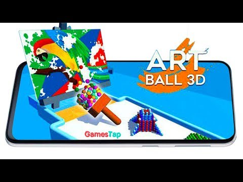 Art Ball 3D - Puzzle Games - Android  Gameplay 1080p