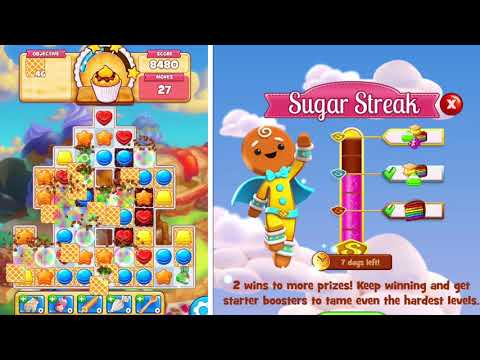 video review of Cookie Jam™ Match 3 Games | Connect 3 or More