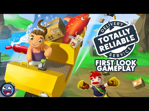 Totally Reliable Delivery Service Gameplay (HD PC)