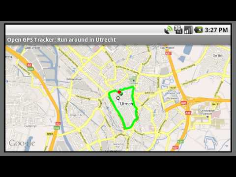 Android - Open GPS Tracker - Second Demo