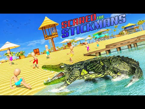 video review of Angry Crocodile Attack Game