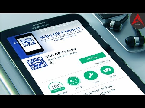 WiFi QR Connect Application Review in Urdu / Hindi