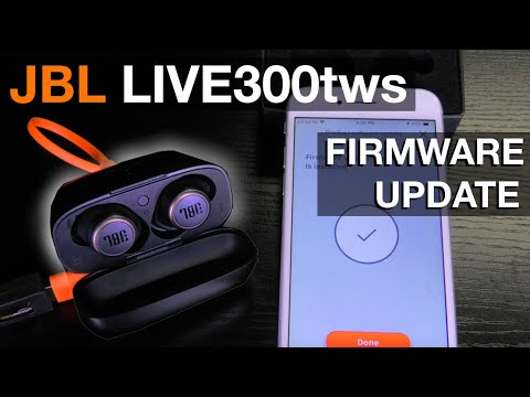 JBL LIVE300tws FIRMWARE UPDATE (how to)