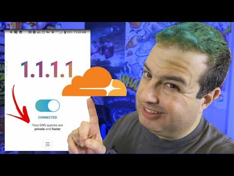 How to get faster Internet with the Cloudflare 1.1.1.1 DNS FREE app on IOS & Android - TheTechieguy