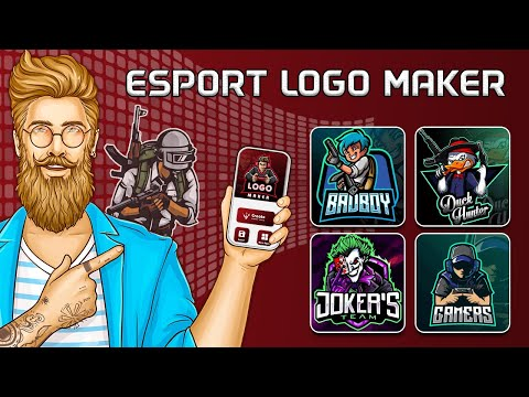 How to use Esports logo maker app | Create gaming logo maker app for Android 2020