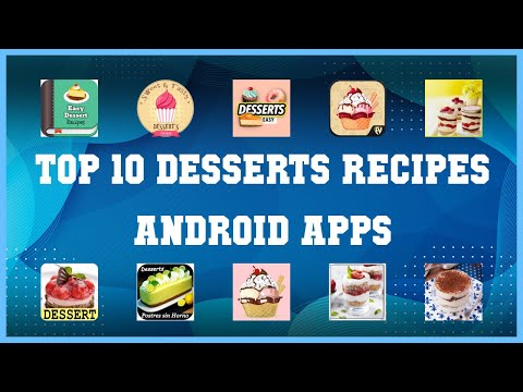 Top 10 Desserts Recipes Android App | Review