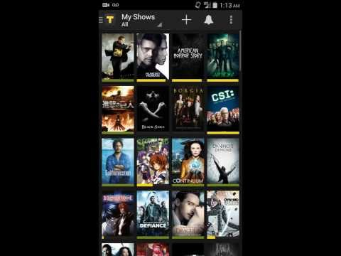 TVShow Time Android App Tour / Review