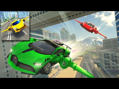 Flying Car Driving 2020  Real Driving Simulator | Android Game Play 2021