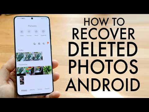 How To Recover Deleted Photos From ANY Android! (2020)
