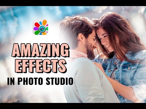 Amazing effects in Photo Studio | Photo Editor | Android App