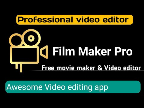 📽️Best Free video editing android mobile app 2020| Film maker pro android app