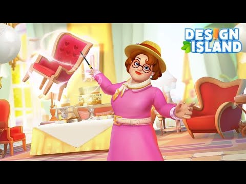 Design island! (by Chiseled Games Limited) IOS Gameplay Video (HD)