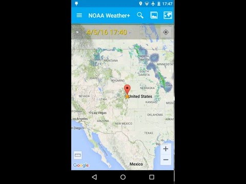 video review of NOAA Weather & Tides