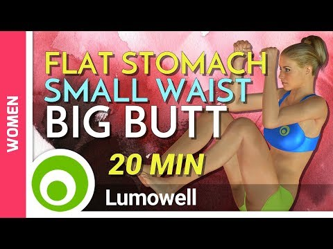 How To Get A Flat Stomach, A Small Waist And A Bigger Butt
