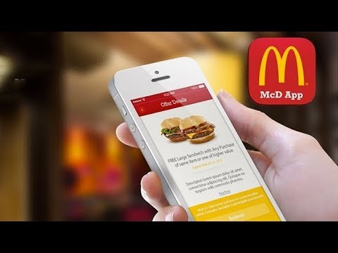 How to use and order on the McDonalds App Like a Boss!