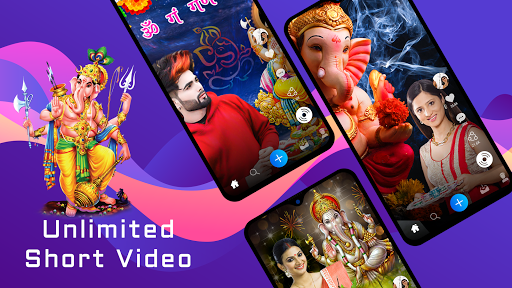Ganesh video maker with song screenshot 2