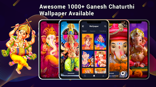 Ganesh video maker with song screenshot 4
