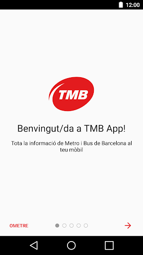 TMBAPP (Metro Bus Barcelona) screenshot 1