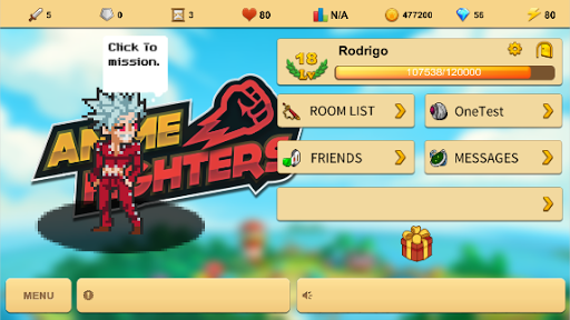 Anime Fighters - Online screenshot 1