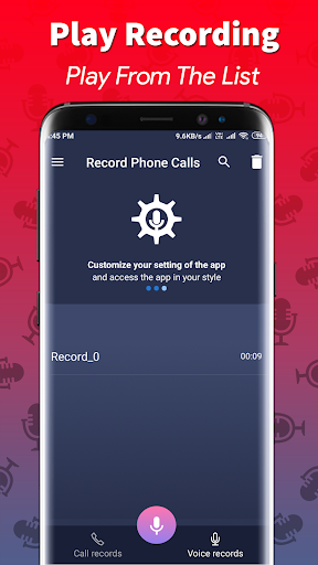 Call Recording & Phone Recoder screenshot 4