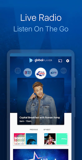 Capital FM Radio App screenshot 2