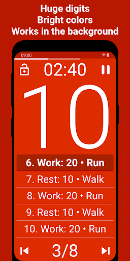 Tabata Timer screenshot 2