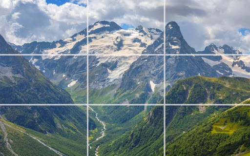 Puzzle - Great mountains screenshot 2