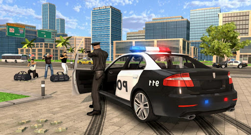Police Car Chase Simulator screenshot 1